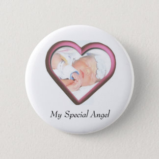 My Special Angel Pinback Button