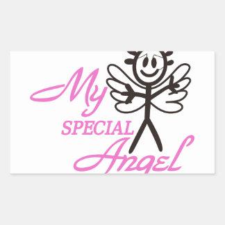 My Special Angel Rectangular Sticker