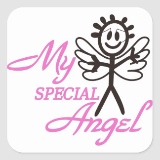 My Special Angel Square Sticker