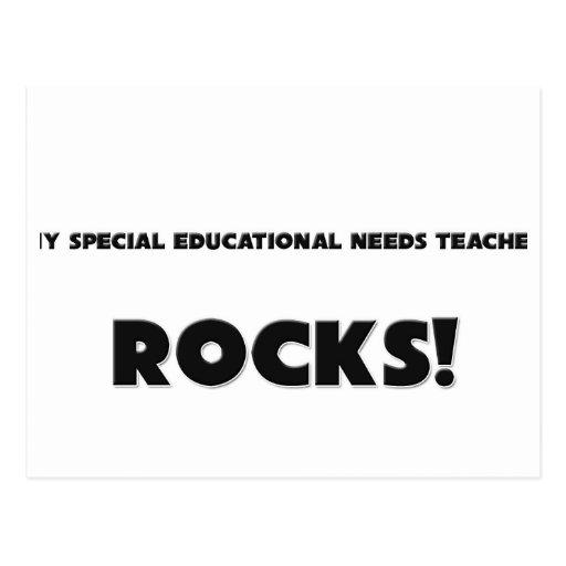 MY Special Educational Needs Teacher ROCKS! Postcard