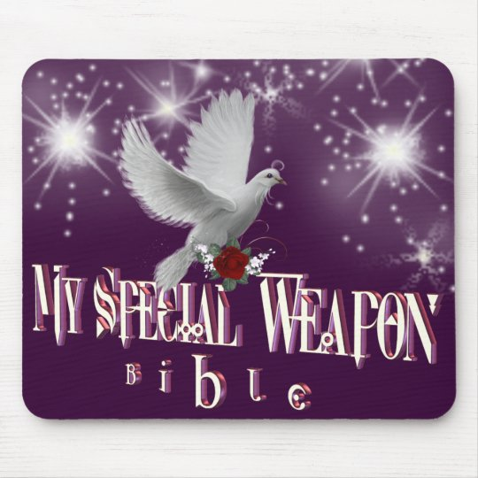 My Special Weapon Mousepad