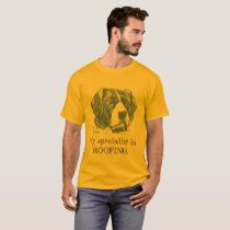 """My speciality is ROOFING"" dog pun T-Shirt"