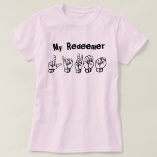 My speech MER Lives (ASL alphabet) T-Shirt