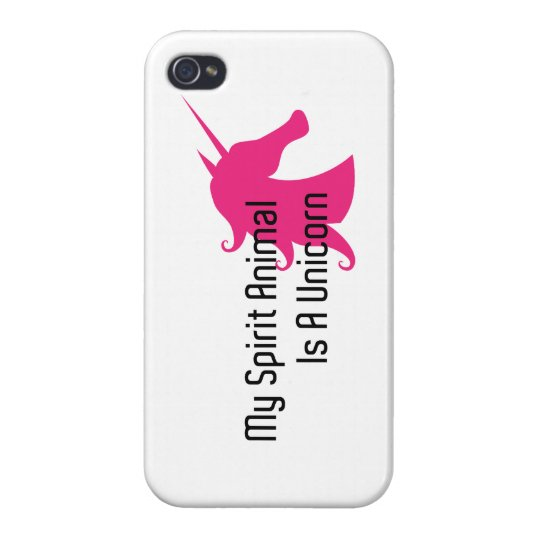 My Spirit Animal Is A Unicorn iPhone 4/4S Case