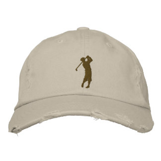 My Sport Golf Embroidered Hat