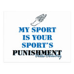 My sport is your sports punishment - CC Post Card