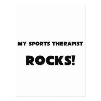 MY Sports Therapist ROCKS! Postcards