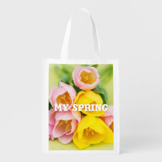 My spring grocery bags