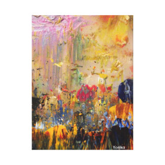 My squeegee canvas print