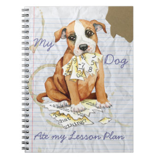 My Stafford Ate My Lesson Plan Spiral Notebooks