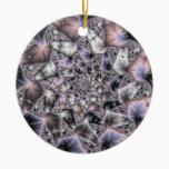 My Star - Fractal Art Ceramic Ornament