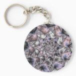 My Star - Fractal Art Keychain