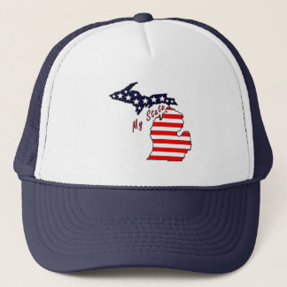 My State: Michigan Trucker Hat