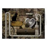 My Steampunk Heart Card