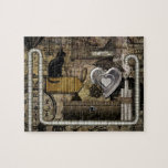My Steampunk Heart Jigsaw Puzzles