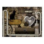 My Steampunk Heart Post Card
