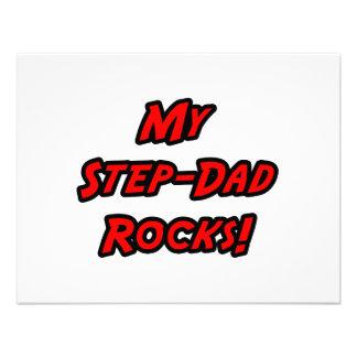 My Step-Dad Rocks Custom Invite
