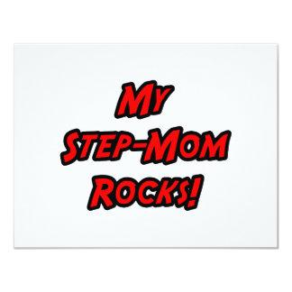 My Step-Mom Rocks 4.25x5.5 Paper Invitation Card