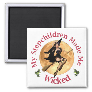 My Stepchildren Made Me Wicked Magnet