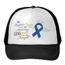 My Stepfather An Angel - Anal Cancer Trucker Hat