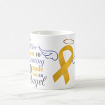 My Stepfather An Angel - Appendix Cancer Coffee Mug