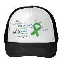 My Stepfather An Angel - Bile Duct Cancer Trucker Hat