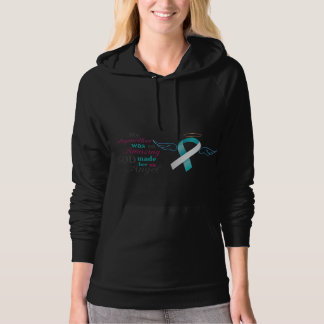 My Stepmother an Angel – Cervical Cancer Hoodie