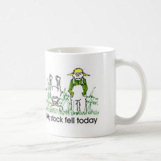My Stock Fell Today Classic White Coffee Mug
