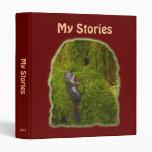 MY STORIES Writer's Compendium 3 Ring Binders
