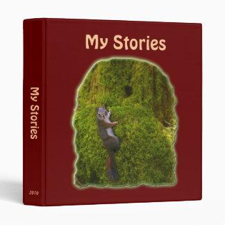 MY STORIES Writer's Compendium Binder