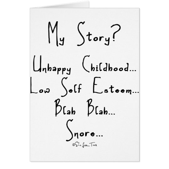 My Story Card