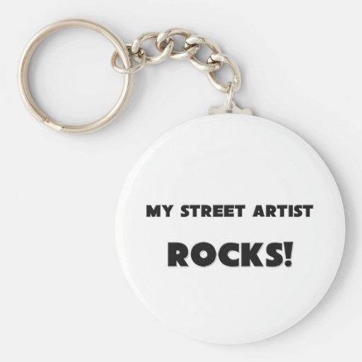 MY Street Artist ROCKS! Keychains