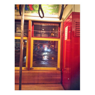 My Streetcar Ride, New Orleans Postcard