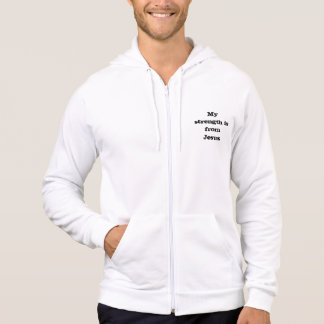 My Strength is from Jesus hoodie sweater