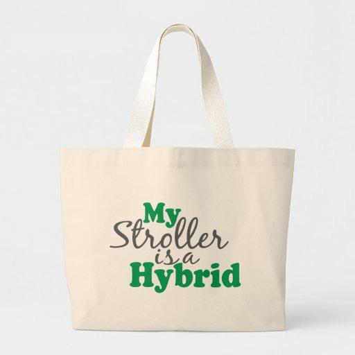 My Stroller is a Hybrid Canvas Bags