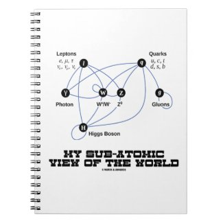 My Sub-Atomic View Of The World (Higgs Boson) Notebooks