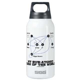 My Sub-Atomic View Of The World (Higgs Boson) SIGG Thermo 0.3L Insulated Bottle