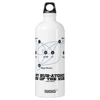 My Sub-Atomic View Of The World (Higgs Boson) SIGG Traveler 1.0L Water Bottle