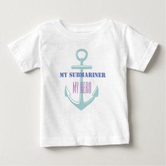 My Submariner My Hero Baby T-Shirt