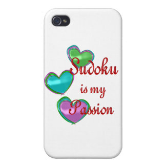 My Sudoku Passion iPhone 4/4S Covers