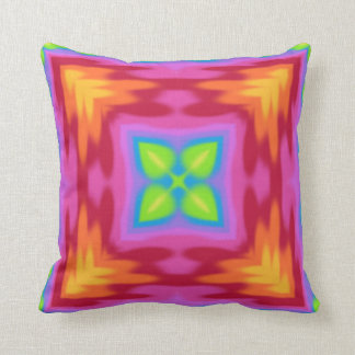 My Summer Impression: Blessed Be, Some Luck found Throw Pillow