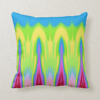 My Summer Impression: Hot measure, Rising Heat. Throw Pillow
