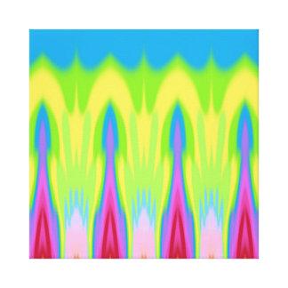 My Summer Impression: Rising Heat Canvas Print