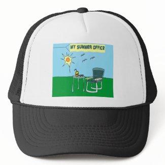 My Summer Office Hat hat