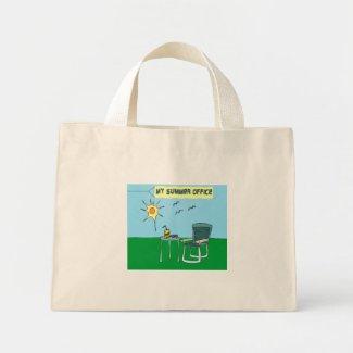 My Summer Office Tote Bag bag