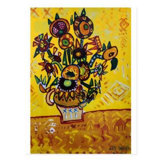 My Sunflowers Postcard