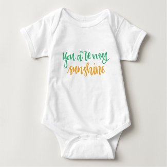 My Sunshine Baby Shirt
