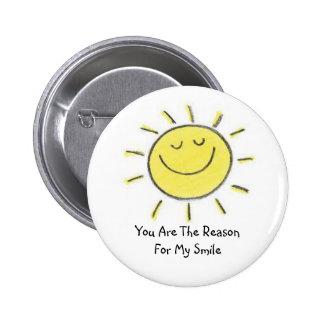 My Sunshine Pinback Buttons