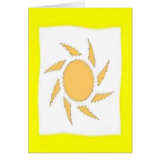 My Sunshine Greeting Card