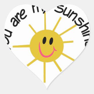 My Sunshine Heart Sticker